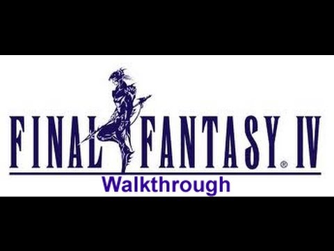 FINAL FANTASY IV Walkthrough Boss Battle Odin & (How to get Excalibur) Part 56 For PS1