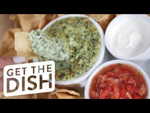 Learn How to Make Hillstone's Iconic Spinach Artichoke Dip | Get the Dish