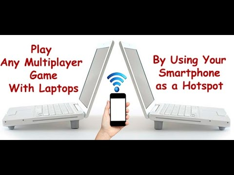 How To Play Any  Multiplayer Game Using Wi Fi  Hotspot Without Installing Any Additional Software