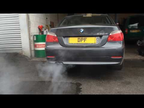 2007 BMW 530d DPF clean and regeneration at www.doncasterdpfcleaning.co.uk