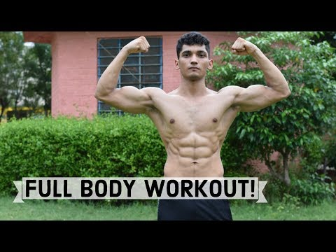Beginner Full Body Workout Routine in Hindi - Calisthenics