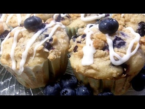 Brunch Blueberry Muffins Recipe- How to make moist, homemade blueberry muffins