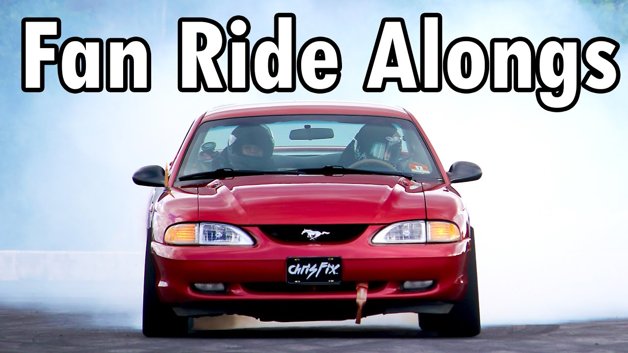 Taking My Subscribers for Rides in the DriftStang (for Charity)