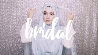 Wedding Hijab Tutorial: Syrian Style with Headband