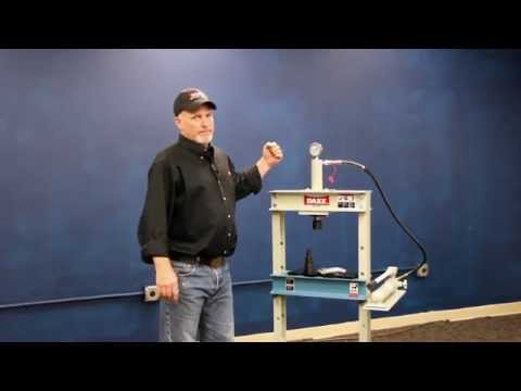 Dake 10-Ton Hydraulic Press