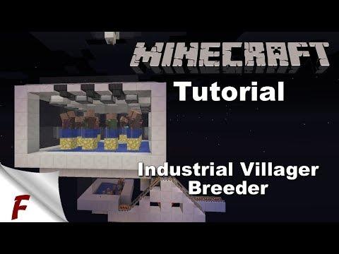 ✅ NEW Minecraft Infinite Industrial Villager Breeder Tutorial 1.13 1.12, 1.12.1 & 1.12.2