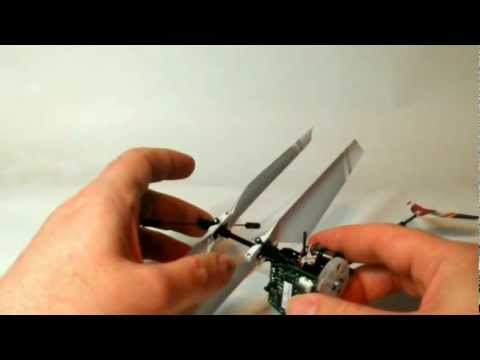Replacing the *Lower* Rotor Drive-Gear on the Blade MCX2 RC Helicopter