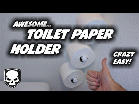 Toilet Paper Holder - for all your extra rolls... - HD