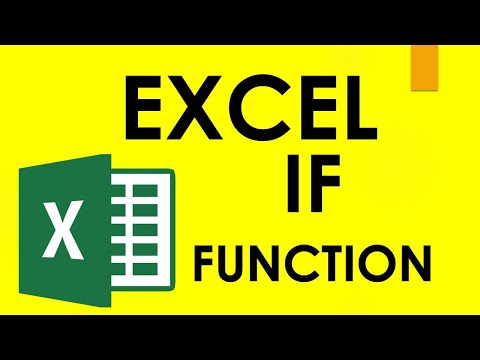 Microsoft Excel 02 Payroll Part 2 How to use IF formula