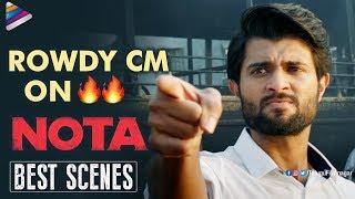 Nota Telugu Movie Back to Back BEST Scenes | Vijay Deverakonda | Mehreen | 2018 Latest Telugu Movies