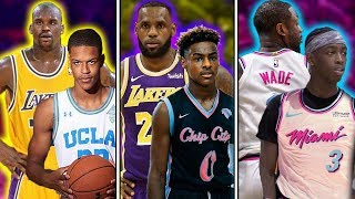 The 9 Greatest Sons Of Legendary NBA Players