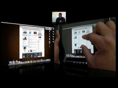 iPad Controlling my iMac