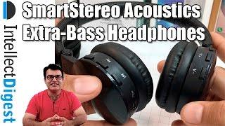 Best Bluetooth Headphones Under $50 SmartStereo Acoustics Extra-Bass Review | Intellect Digest