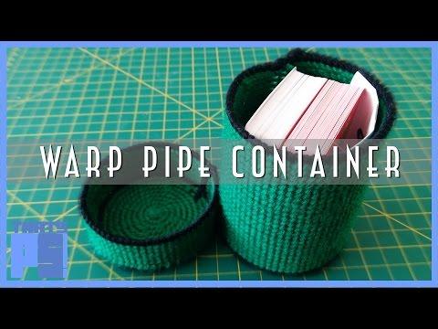 DIY Super Mario Warp Pipe Container