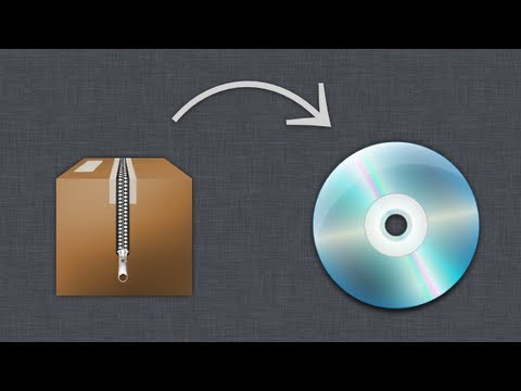 Quick Tips - How to burn an ISO or DMG file with Mac OS X