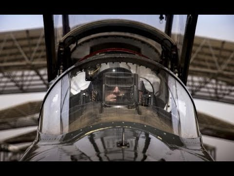 PILOTS VIEW inside the US Air Force T-38C aircraft get a taste of whats it like to be pilot