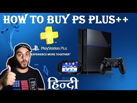 Buying PlayStation Plus + Games from PS Store | Using Credit Card | HINDI |