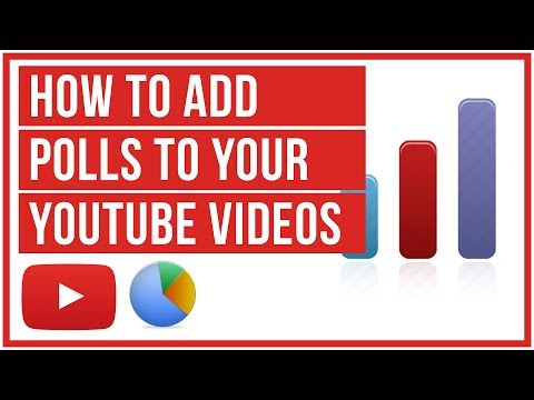 YouTube Tutorial - How To Put A Poll On Your YouTube Video