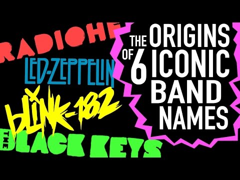 Origins of 6 Iconic Band Names
