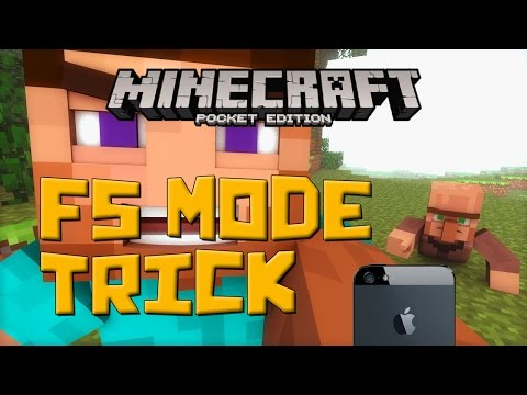 F5 Mode Trick! - Minecraft Pocket Edition