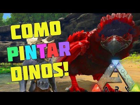COMO PINTAR DINOSAURIOS - ARK Survival Evolved Xbox One / PS4 - Español