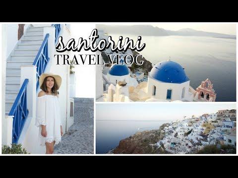 Santorini Greece || Travel Diary