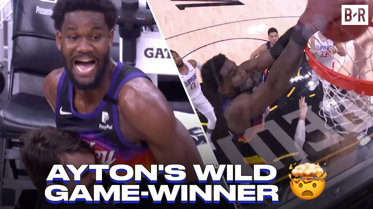 WILD ENDING: Deandre Ayton Dunks Game-Winner After Paul George Misses Two Free Throws
