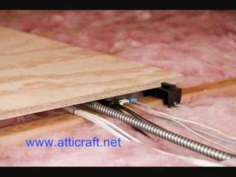 Atticraft - The No Tools Attic Storage System