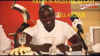 AKON IS MUSLIM NEW FOOTAGE ALLAH HU AKBAR