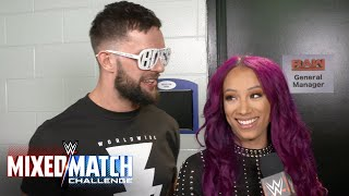 What special fan will motivate Finn Bálor and Sasha Banks at WWE Mixed Match Challenge?
