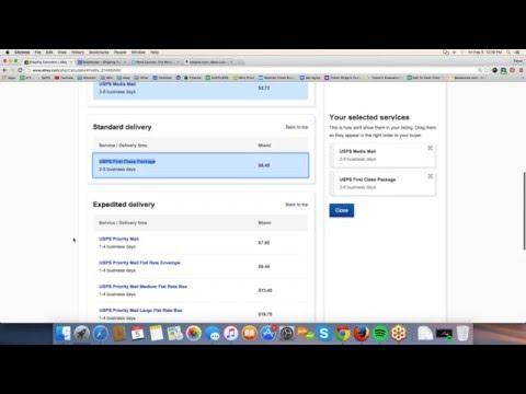 ebay Shipping Calculator Tutorial