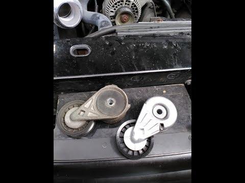 Ford Ranger: Replacing Belt Tensioner & Belt