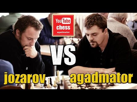 jozarov vs agadmator | 6 games chess match | 3+0 | Testing out Logitech C920