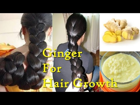 How to Use Ginger for Hair Growth Naturally    Promote Hair Growth With Ginger