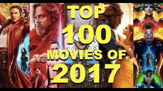 Top 100 BEST Movies 2017