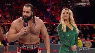 Sexy Lana HBK Rusev WWE RAW