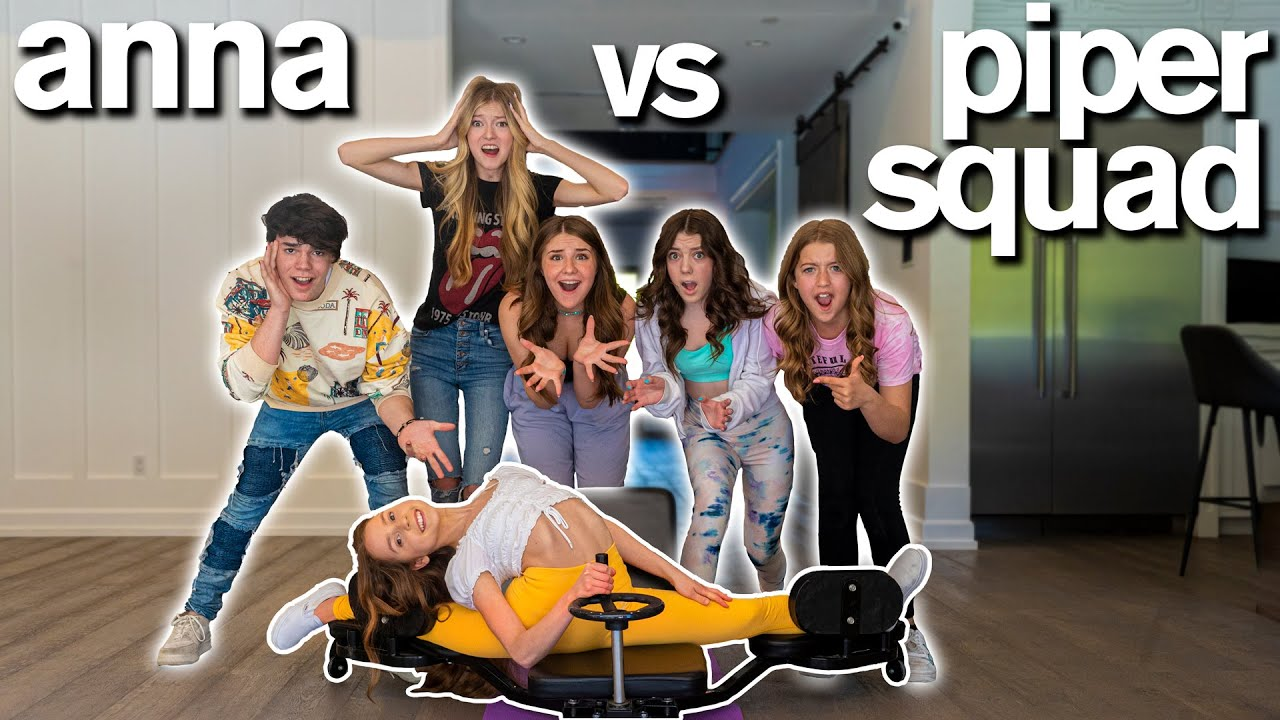 How Far Can You SPLIT CHALLENGE *Piper Rockelle vs Anna McNulty*