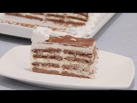 Mlečna keks torta