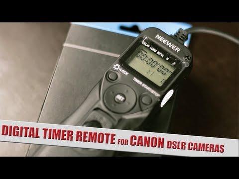Timelapse controller  for Canon DSLR Camera's