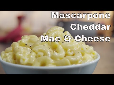 Mascarpone And Cheddar Macaroni And Cheese || Le Gourmet TV Recipes