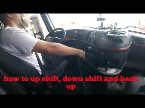 How to drive semi truck