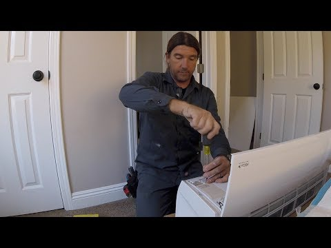 Installing a Multi Zone Ductless Split System Pt 1