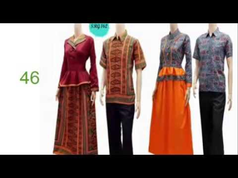 Trend Gamis Batik Model Baju Batik Wanita Semi Jas Model