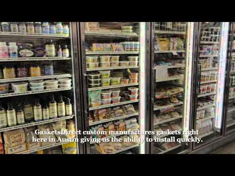 Refrigerator Door Gasket Seal | Freezer Gaskets Replacement -- Gaskets Direct