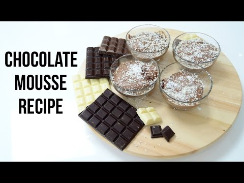 Chocolate Mousse Recipe Easy  | Easy Cooking Recipes | Cook with Anisa