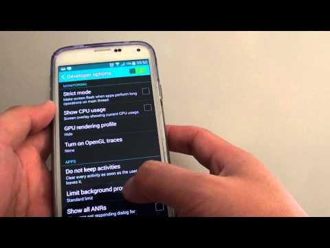 Samsung Galaxy S5: How to Set a Limit on Running Background Processes
