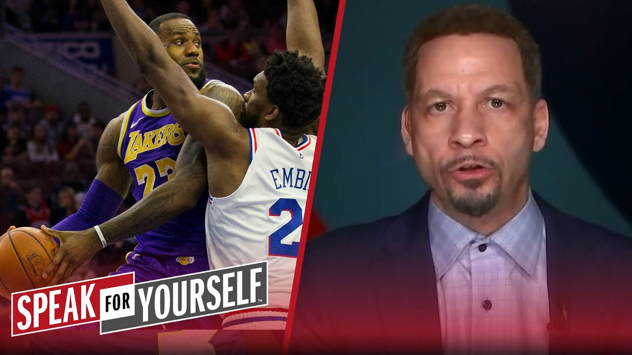 Chris Broussard lists 3 players in the argument for NBA's best when healthy | SPEAK FOR YOURSELF