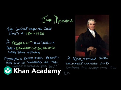 Marbury v. Madison | US Government and Politics | Khan Academy