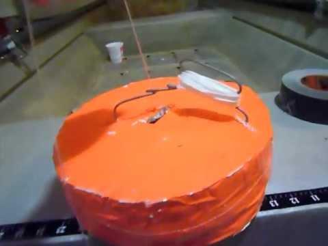 Homemade Flashing Fishing Jug/Noodle