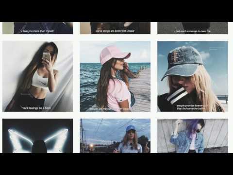Five Tumblr Instagram Account With Quotes | Secret Mermaid Tutorial